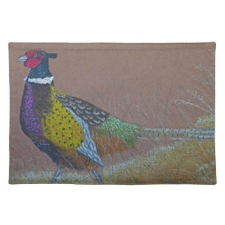 Ring Neck Pheasant Wild Bird Placemat