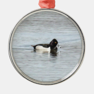 Ring-necked Duck Metal Ornament