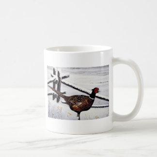 Ring-necked pheasant coffee mug