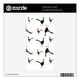 Ring-necked Pheasant iPhone 4 Skin