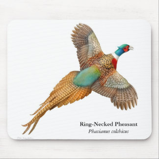 Ring Necked Pheasant Mousepad