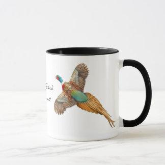 Ring Necked Pheasant Ringer Mug
