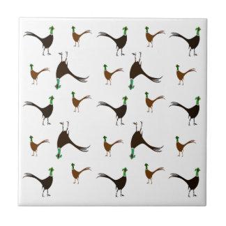Ring-necked Pheasant Tile