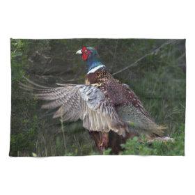 Ring Necked Pheasant Towel