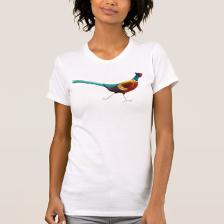 Ring Necked Pheasant V-Neck Shirt