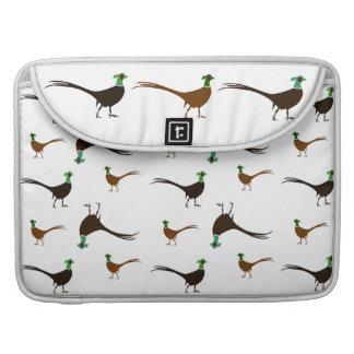 Ring-necked Pheasants Sleeve For MacBooks