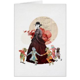 Ring-o-Ring-o-Rosy (The Myth) Greeting Cards