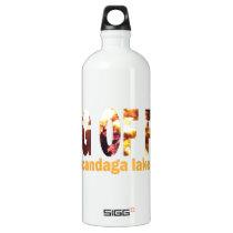 Ring Of Fire 2013 Aluminum Water Bottle