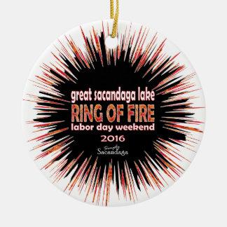 Ring Of Fire 2016 Ceramic Ornament