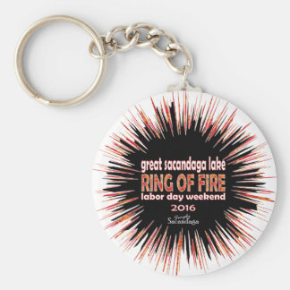 Ring Of Fire 2016 Keychain