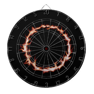 Ring of Fire Dartboard With Darts