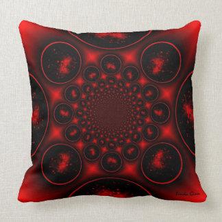 Ring of Fire Kaleidscope Pillow