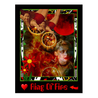 Ring Of Fire Postcard