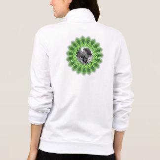 Ring of Green Photo Frame Kaleidoscope Mandala Jacket