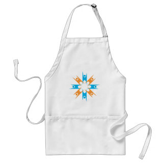 Ring of Happy Humanists Adult Apron