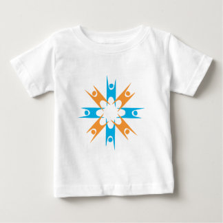 Ring of Happy Humanists Baby T-Shirt