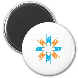 Ring of Happy Humanists Magnet
