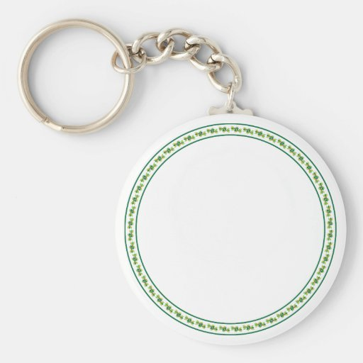 Ring of Holly Key Chains