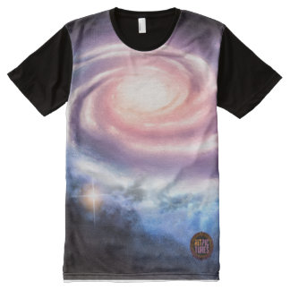 Ring of Hope in Space All-Over Printed T-Shirt