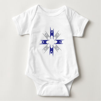 Ring of Humanists Baby Bodysuit