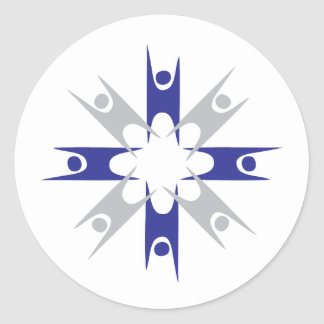 Ring of Humanists Classic Round Sticker