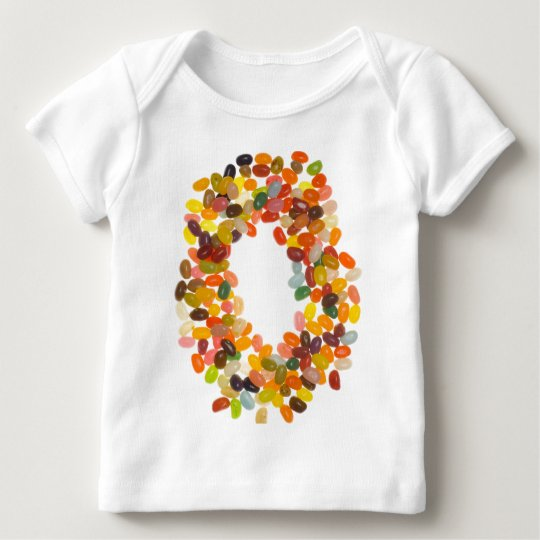 Ring of jelly beans baby T-Shirt