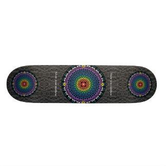 Ring of Joy Rainbow Skateboard