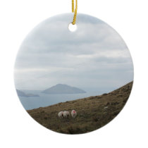 Ring of Kerry, Ireland Ceramic Ornament