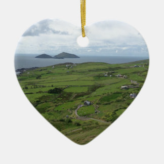 Ring Of Kerry Ireland Irish Ocean View Ceramic Ornament