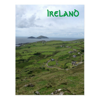 Ring Of Kerry Ireland Irish Ocean View Postcard