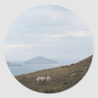 Ring of Kerry, Ireland Classic Round Sticker