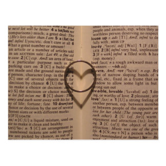 Ring of Love - Antique Postcard