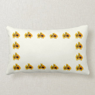 Ring of Sunflowers Pillow