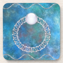 Ring of Water Cork Coaster