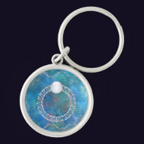 Ring of Water Keychain