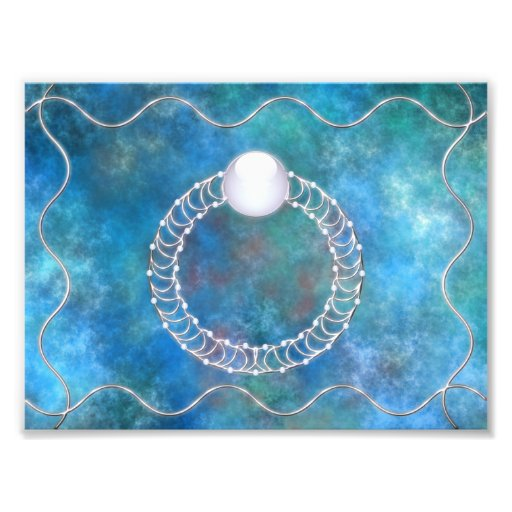 Ring of Water Photo Print