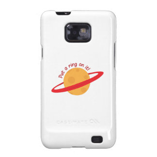 Ring On It Samsung Galaxy SII Cover