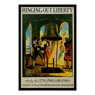 Ring Out Liberty Poster