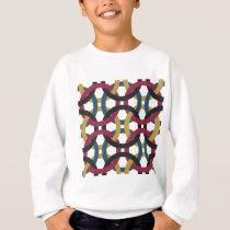 ring pattern sweatshirt