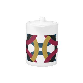 ring pattern teapot