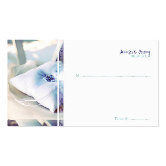 Ring Pillow Seating Card Business Card