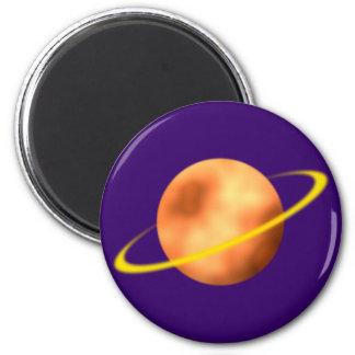 Ring planet Saturn Magnet