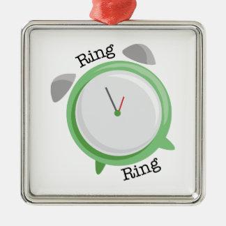 Ring Ring Metal Ornament