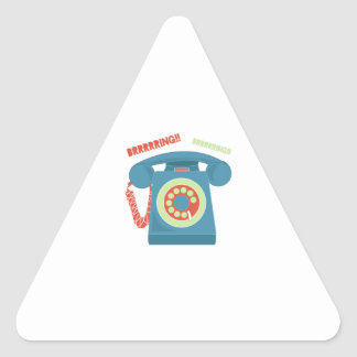 Ring Ring Triangle Sticker