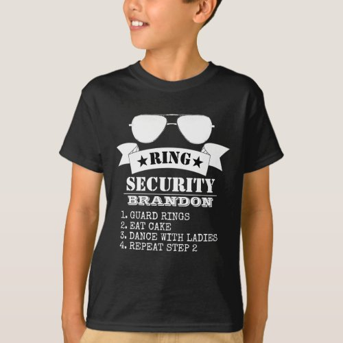Ring Security Funny Proposal T_Shirt