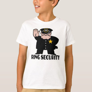ring security,ring bearer T-Shirt