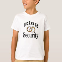 Ring Security Wedding Kids Shirt