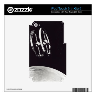 Ring Space Station Concept Decal For iPod Touch 4G