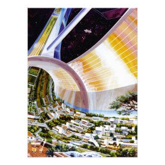 Ring Space Station - Future Off-World Habitat Invitations