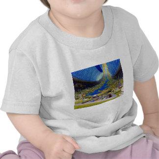 Ring Space Station Interior Habitat T-shirts